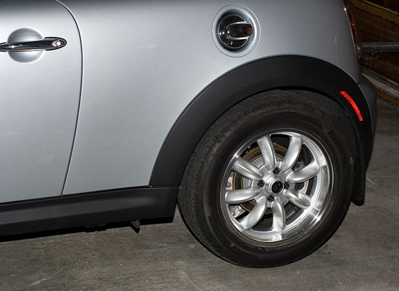 Pirelli Nero >> Going from 195/55R16 to 205/55R16 on an R56? - North ...