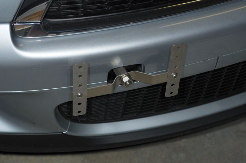 No Holes License Plate Bracket... - North American Motoring